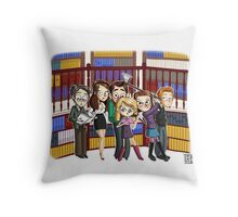 The ScoobyGang Throw Pillow