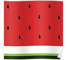 Fresh Water Melon Poster