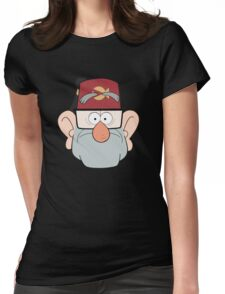 Stan Pines Paper Fez Face Mask Womens Fitted T-Shirt