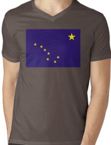 alaska state flag Mens V-Neck T-Shirt