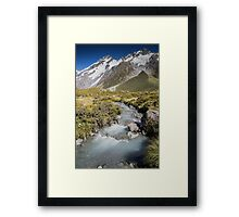 Mountain Water Framed Print