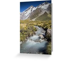 Mountain Water Greeting Card