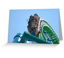 Kingda Ka - Over the Top 456 ft. Greeting Card