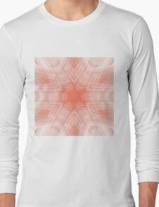 Abstract / Psychedelic / Geometric Artwork Long Sleeve T-Shirt