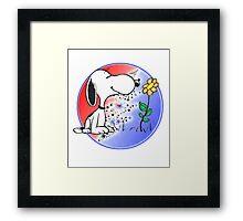 Snoopy Stealie Framed Print