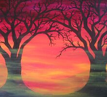 Tree Skeletons by mistresskelly