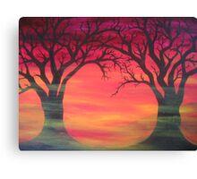 Tree Skeletons Canvas Print