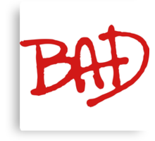 Bad WolfBad Canvas Print