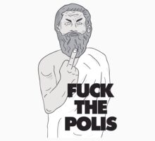 Fuck the polis! T-Shirt