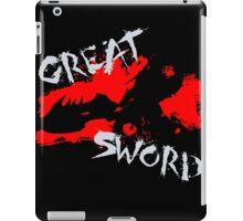 MH4U Great Sword (CLASS SERIES) iPad Case/Skin