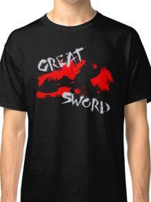 MH4U Great Sword (CLASS SERIES) Classic T-Shirt