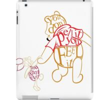 Winnie the Pooh and Piglet  iPad Case/Skin
