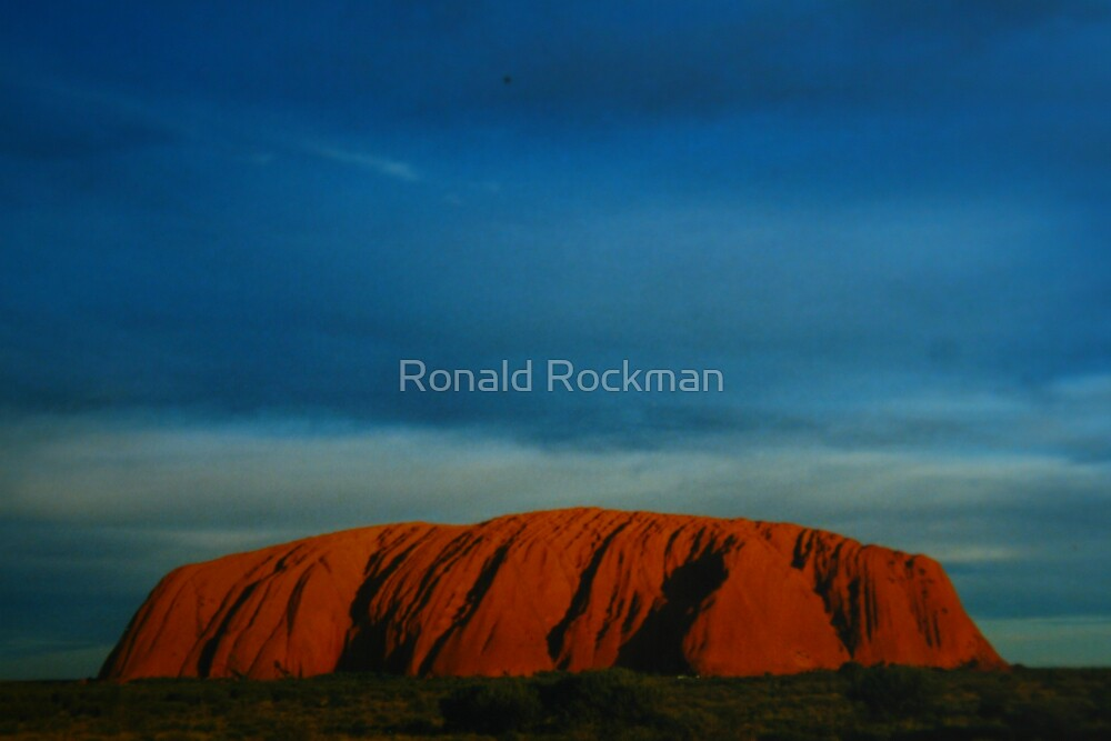 Uluru Late Afternoon ( THE ROCK IMAGE BY ROCK) by Ronald Rockman