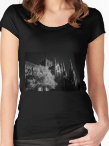 St Mary's Cathedral Sydney Women's Fitted Scoop T-Shirt