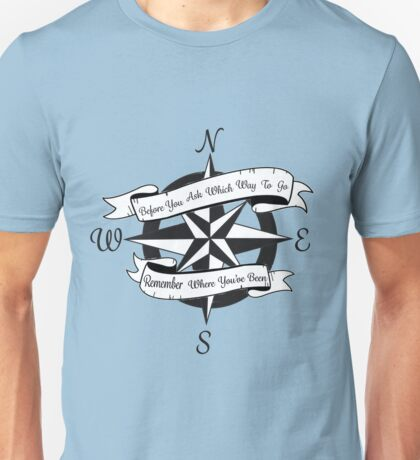 Compass w/ Lyrics Unisex T-Shirt