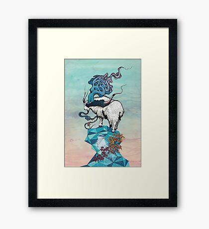 Seeking New Heights Framed Print