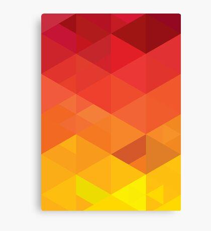 fiery pattern Canvas Print