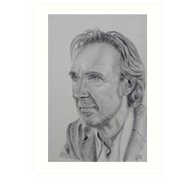 Mike Rutherford of Genesis and Mike and the Mechanics Art Print