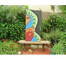 Art In The Garden - Half God Half  Photographic Print