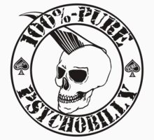 Pure Psychobilly - Black Stamp Kids Clothes