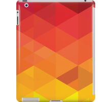 fiery pattern iPad Case/Skin