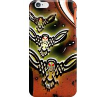 Bird Robot Drones Patrol the Solar System iPhone Case/Skin