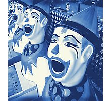 Laughing Clowns Photographic Print