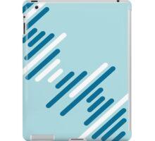 Blue Pattern iPad Case/Skin