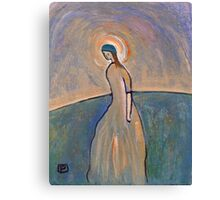 A saintly woman Canvas Print