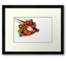 A Different Attitude! Framed Print
