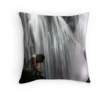 Come away... To the waters and the wild Throw Pillow