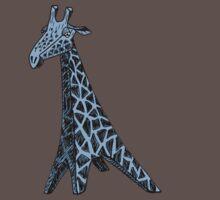 Blue Giraffe by Dylan DeLosAngeles