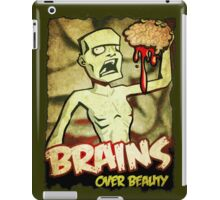 Brains Over Beauty iPad Case/Skin