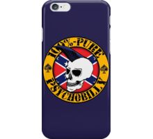 Pure Psychobilly - Flag iPhone Case/Skin