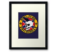 Pure Psychobilly - Flag Framed Print
