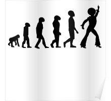 'Disco Evolution' Poster