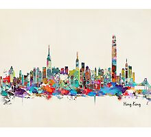 Hong Kong skyline Photographic Print
