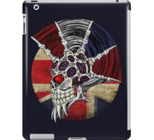 Punk Skull - Union Jack BG iPad Case/Skin