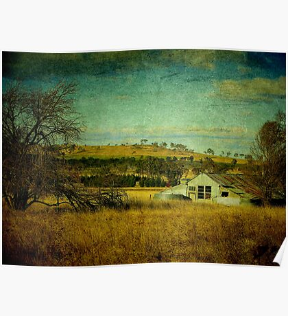 Rustic, Uralla, New South Wales, Australia Poster