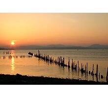 Sunset Stabs 1 Photographic Print