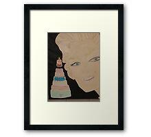 Marilyn Monroe - a Cake for JFK 's Birthday 1962 Framed Print