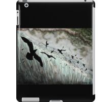 """If the Wall ravens are lost or fly away, the Wall will fall and the Kingdom with it."""" iPad Case/Skin"""
