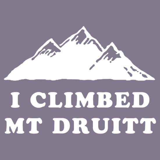 TShirtGifter presents: I Climbed Mt Druitt