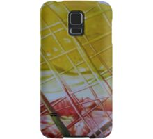 Through the wire Samsung Galaxy Case/Skin