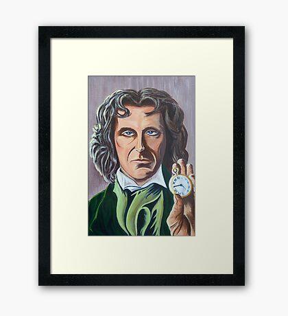Paul McGann as Doctor Eight Framed Print