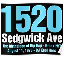 The Birthplace of Hip Hop Poster