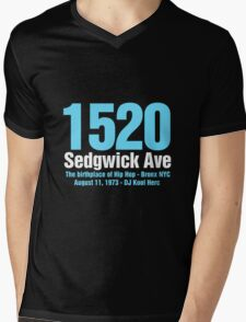 The Birthplace of Hip Hop Mens V-Neck T-Shirt