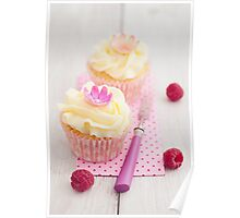 Two cupcakes Poster