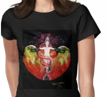 THE ASCENSION OF LILITH Womens Fitted T-Shirt
