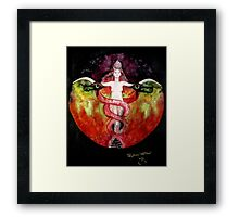 THE ASCENSION OF LILITH Framed Print